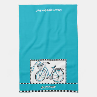 Summer Bicycle Kitchen Towel