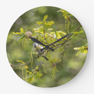 summer bird photography large clock