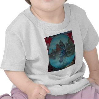 summer bluejay shirt