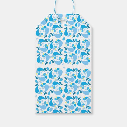 Summer Blues Gift Tags
