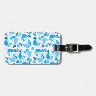 Summer Blues Luggage Tag