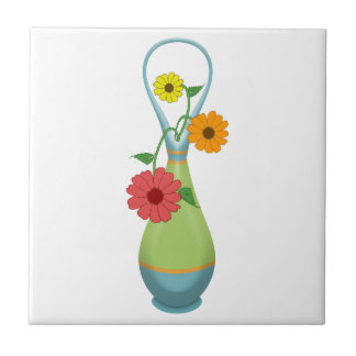 Summer Bouquet Ceramic Tile