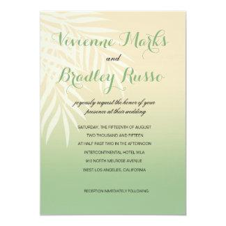 Summer Breeze Beach Wedding | jade Card