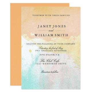 Summer Breeze Wedding invitations