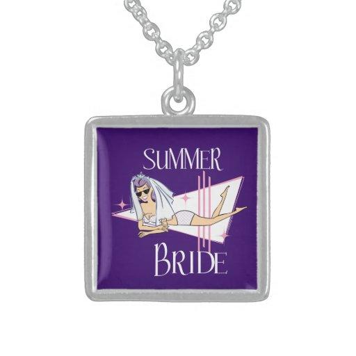 Summer Bridal Necklaces