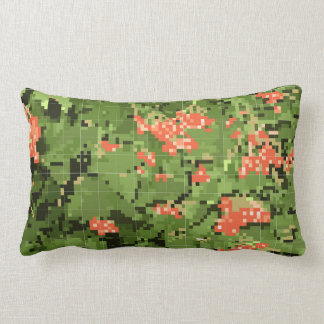 Summer, bright design lumbar cushion