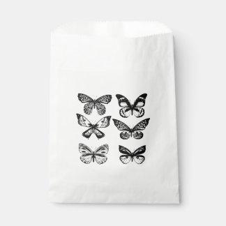 Summer butterflies wedding edition favour bag
