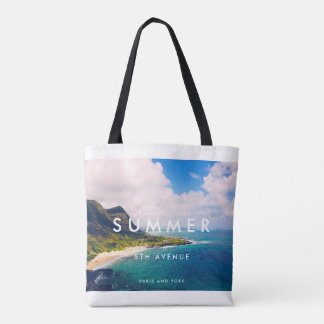 SUMMER by Paris and York Tote Bag