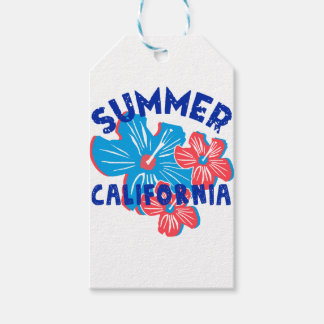 summer california gift tags
