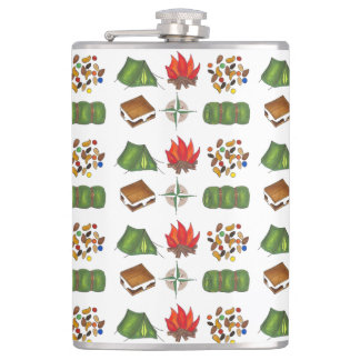 Summer Camp Camping Hiking Outdoors Flask