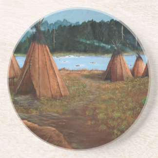 Summer Camp Drink Coasters