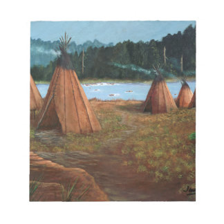 Summer Camp Notepad