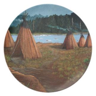 Summer Camp Plate