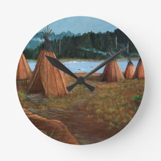 Summer Camp Wallclocks