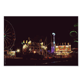 Summer carny nights photo print
