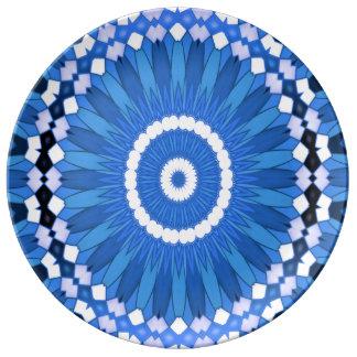 Summer Celebration (blue) Plate