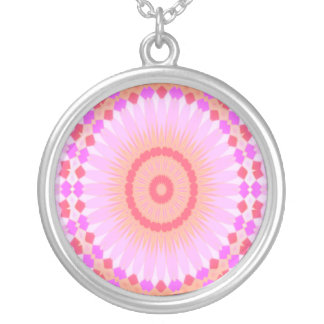Summer Celebration (wink) Silver Plated Necklace
