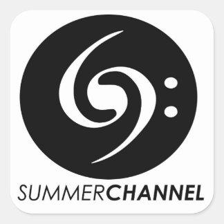 Summer Channel Stickers