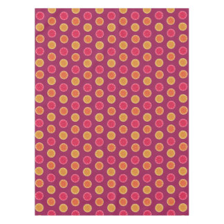 Summer Citrus Fruit Slice Tropical Pretty Pattern Tablecloth