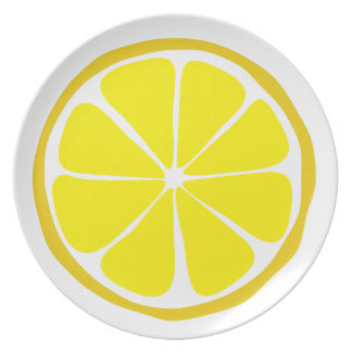 Summer Citrus Lemon Dinner Plate