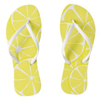 Summer Citrus Lemon FlipFlops