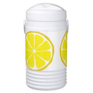 Summer Citrus Lemon Igloo Cooler