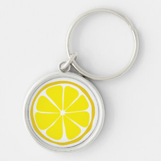 Summer Citrus Lemon Keychain