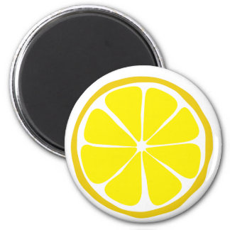 Summer Citrus Lemon Magnet