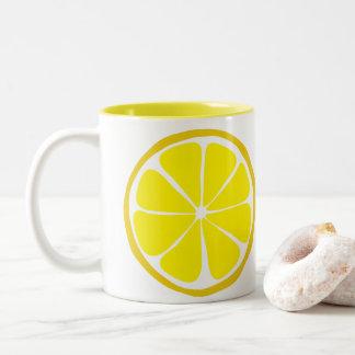 Summer Citrus Lemon Mug