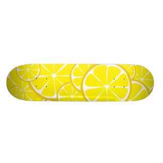 Summer Citrus Lemon Skateboard