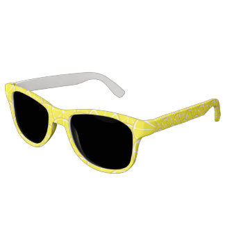 Summer Citrus Lemon Sunglasses