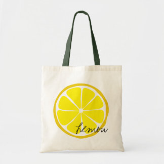 Summer Citrus Lemon Tote