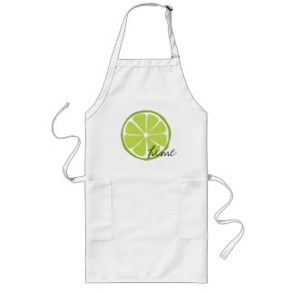 Summer Citrus Lime Arpon Long Apron