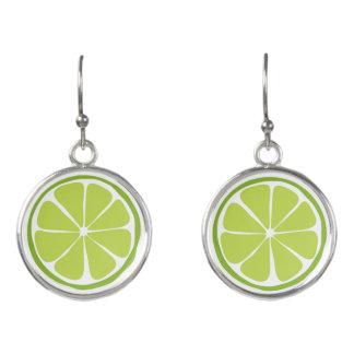 Summer Citrus Lime Earrings