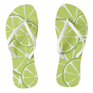 Summer Citrus Lime FlipFlops