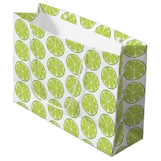Summer Citrus Lime Gift Bag - LARGE