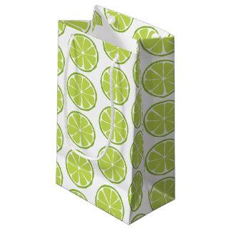 Summer Citrus Lime Gift Bag - SM/MED/WINE