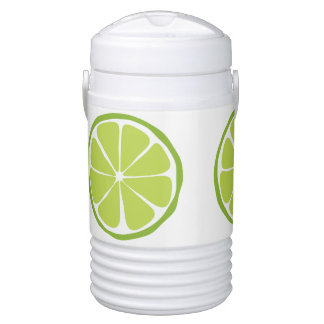 Summer Citrus Lime Igloo Cooler