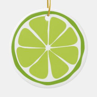 Summer Citrus Lime Ornament