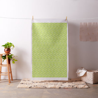 Summer Citrus Lime Slices Fabric