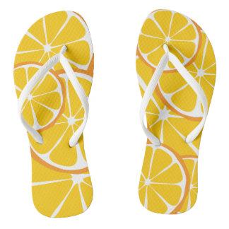 Summer Citrus Orange FlipFlops