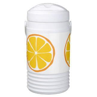 Summer Citrus Orange Igloo Cooler