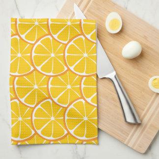 Summer Citrus Orange Kitchen Towel