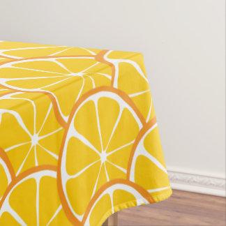 Summer Citrus Orange Tablecloth