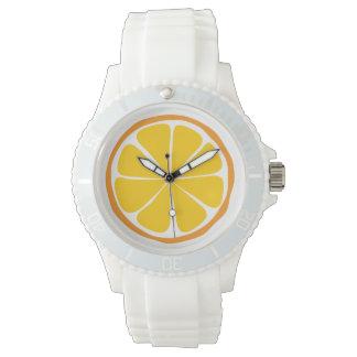 Summer Citrus Orange Watch