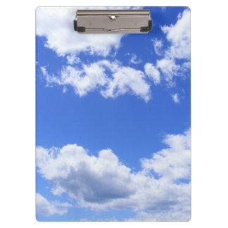 Summer Clouds Clipboard