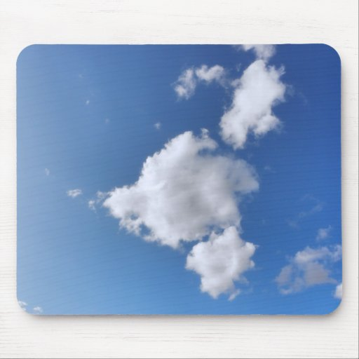 Summer Clouds Mouse Pads