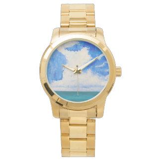 Summer Clouds Wristwatch