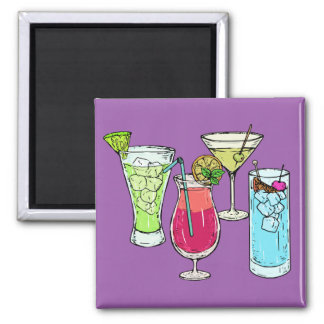 Summer Cocktails magnet
