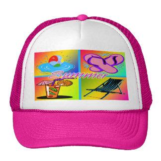 Summer Collage Hat